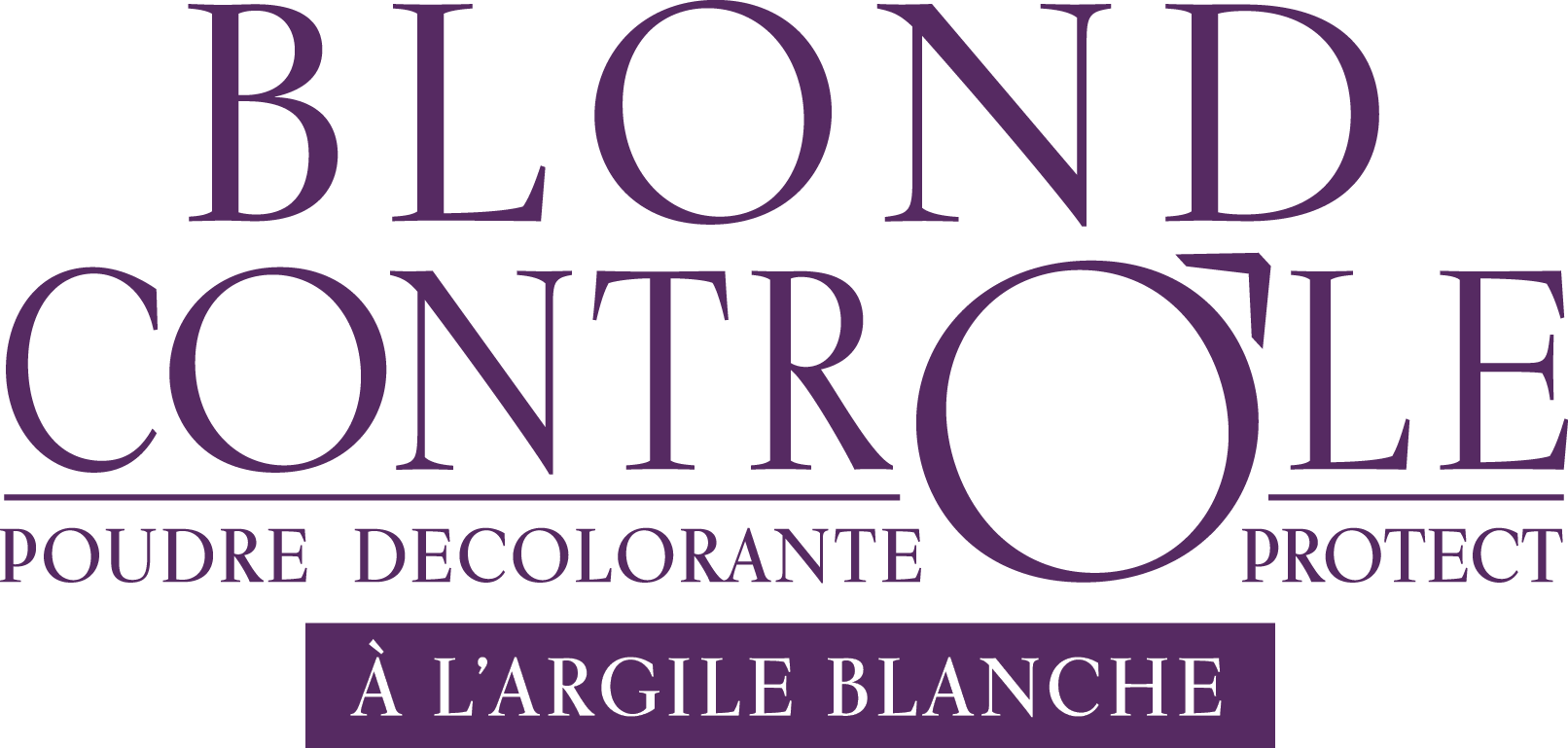 logo blond controle protect