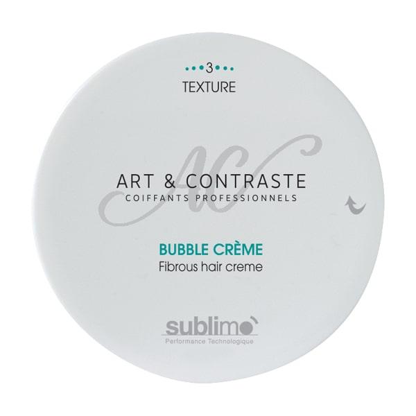Bubble crème pâte fibreuse malléable