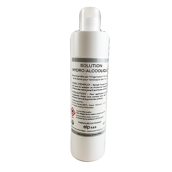 Solution hydro-alcoolique 300 ml