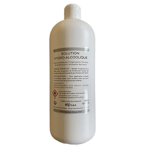 Solution Hydro-alcoolique 1L